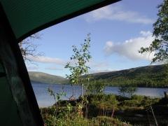 Läger vid Ryvang.liten