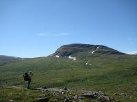 Padjelantaleden i Laponia.