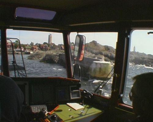 Roland i Lotsbåt